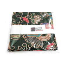 Batik Coaster made with green batik cloth in 2pc per pack