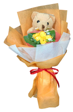Hand Bouquet with teddy bear