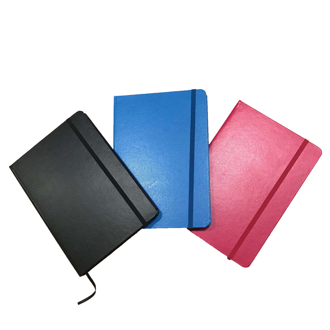A5 Faux Leather Notebook