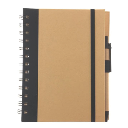 Notebook with Ballpen and Elastic Band