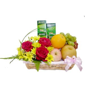 Brands & Fruits Get Well Basket (WB-00-10)