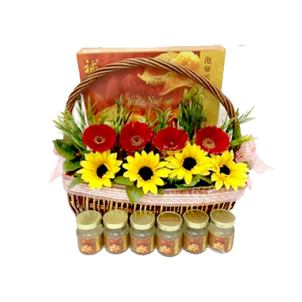 Bird's Nest Tonic Basket (WB011)