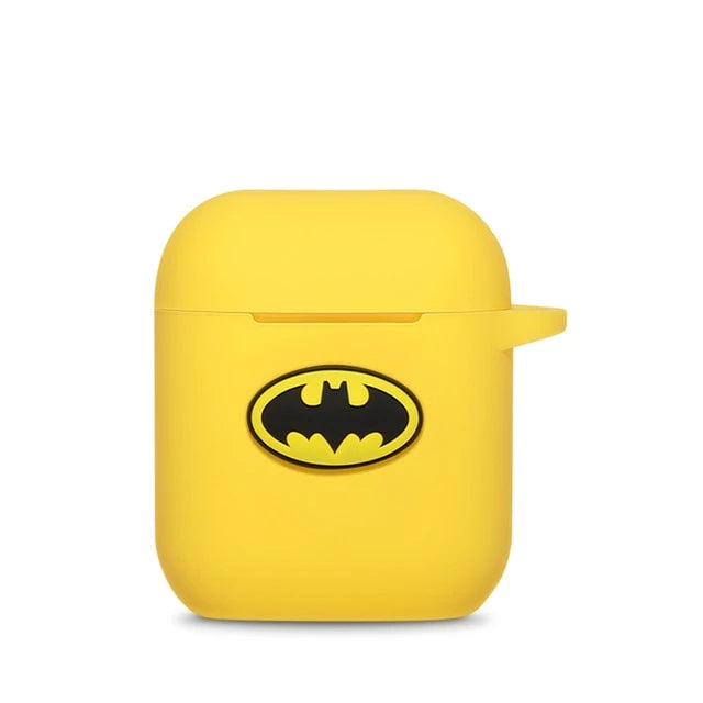 Coque Airpod System Batman Jaune