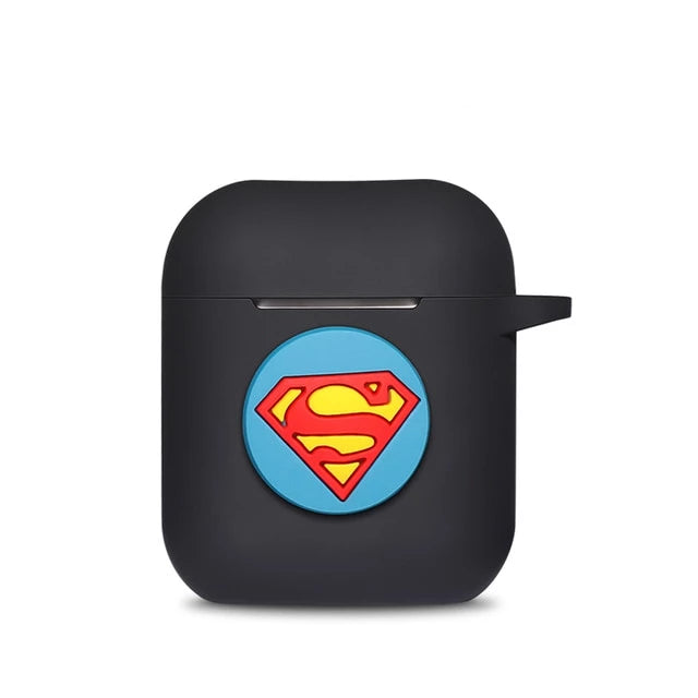 Coque Airpod System Superman Noir