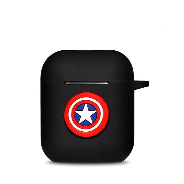Coque Airpod System Captain America