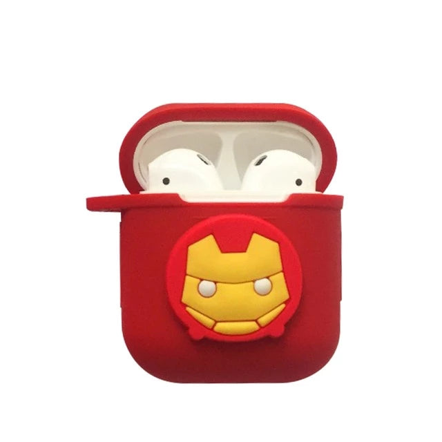 Coque Airpod System Iron Man