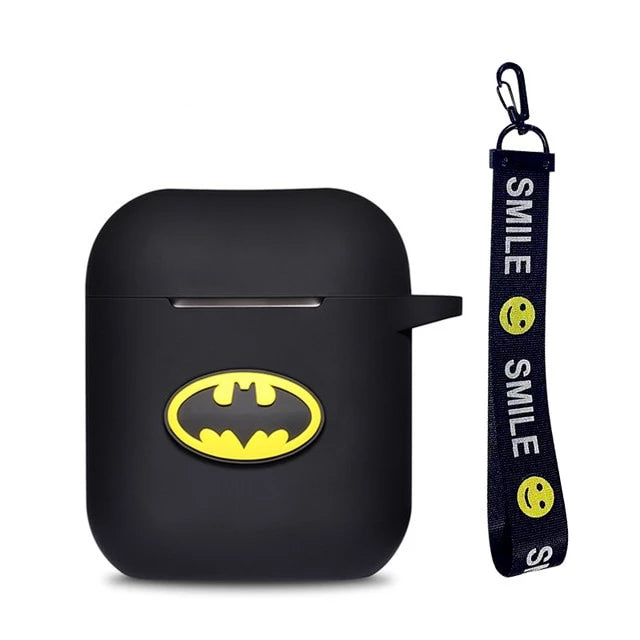 Coque Airpod System Batman Noir
