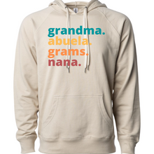 Load image into Gallery viewer, Grandma by Melissa  French Terry Hoodie
