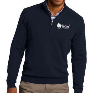 Karlstad Golf Club Port Authority 1/2 Zip Sweater