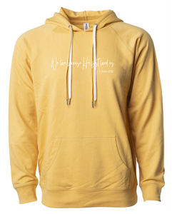 We Love  by Melissa French Terry Hoodie