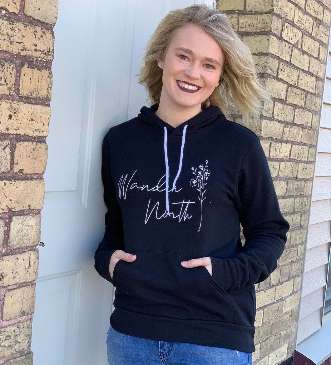 Wander North Hooded Sweatshirt