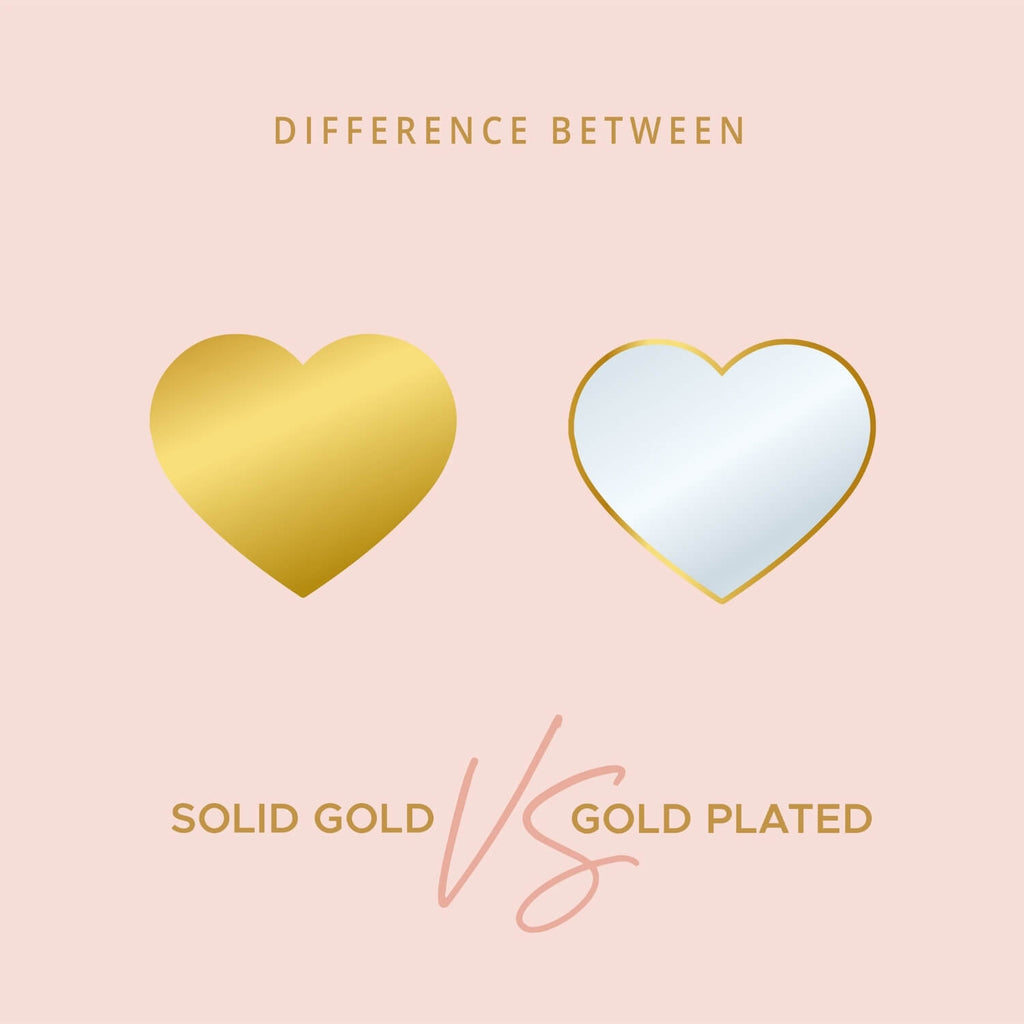 Difference Between: Solid Gold and Gold Plated