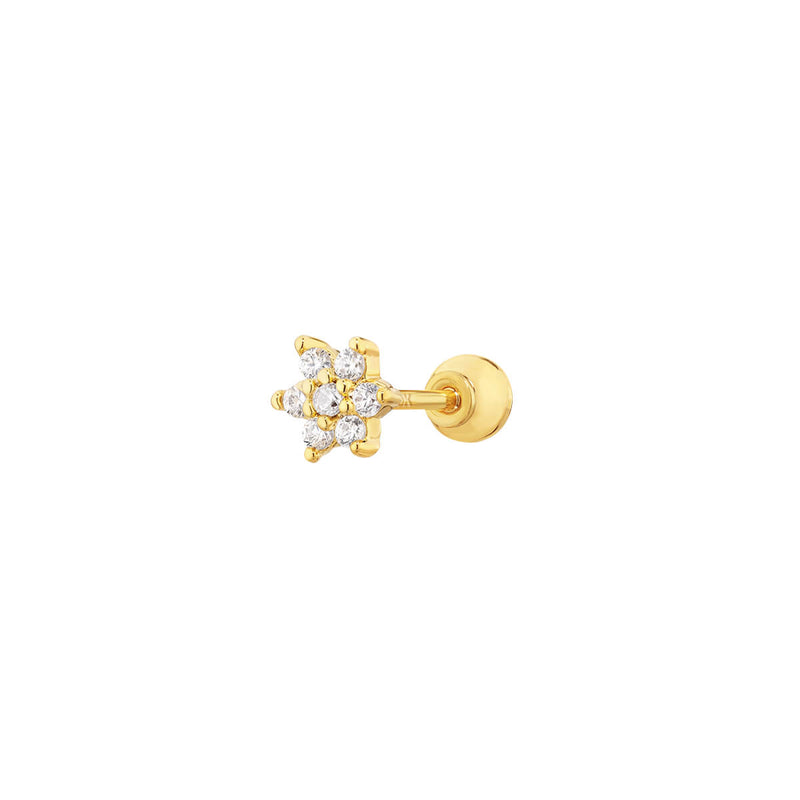 10K Tiny Flower Barbell