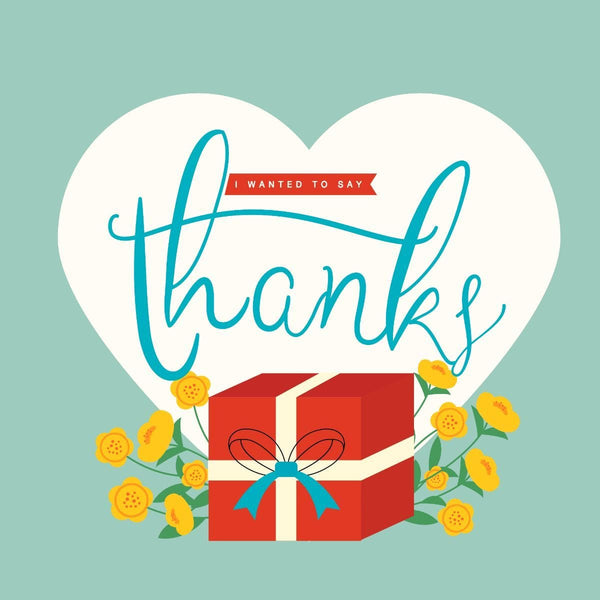 Thankyou Card - card - With Bling - M0024