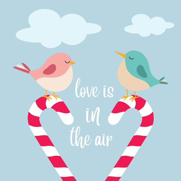 Love is in the air Card - card - With Bling - M0026