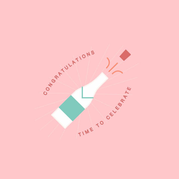 Congratulations Card - card - With Bling - M0031