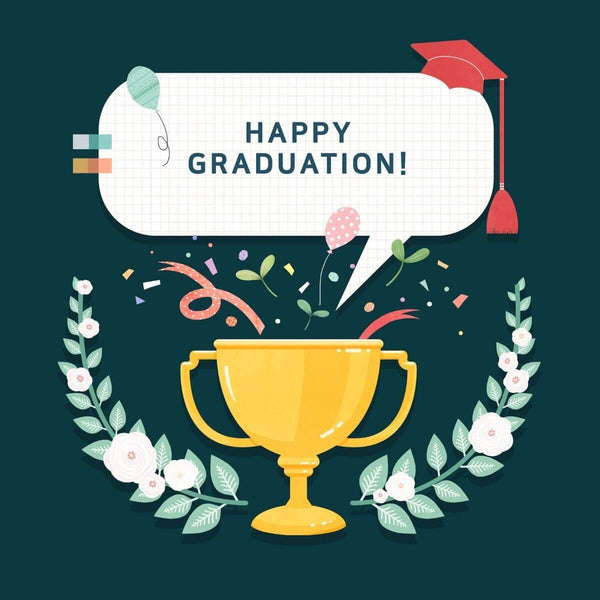 Graduation Card - card - With Bling - M0034
