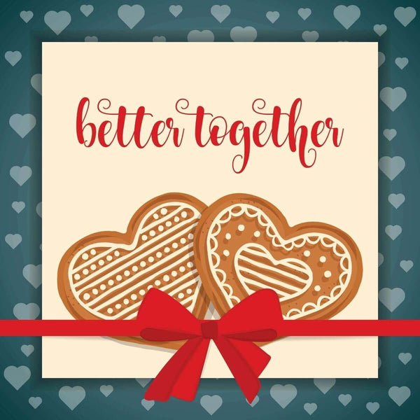 Better together Card - card - With Bling - M0047