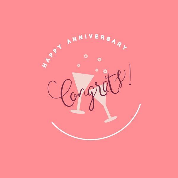 Anniversary Card - card - With Bling - M0053