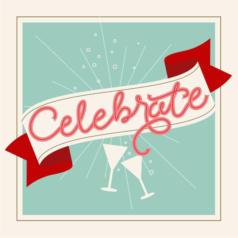 Celebrate Card - card - With Bling - M0063