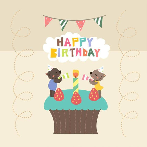 Birthday Card - card - With Bling - M0070