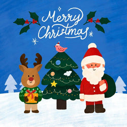 Christmas Card - card - With Bling - M0072