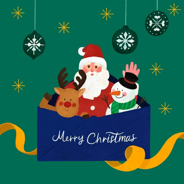 Christmas Card - card - With Bling - M0073