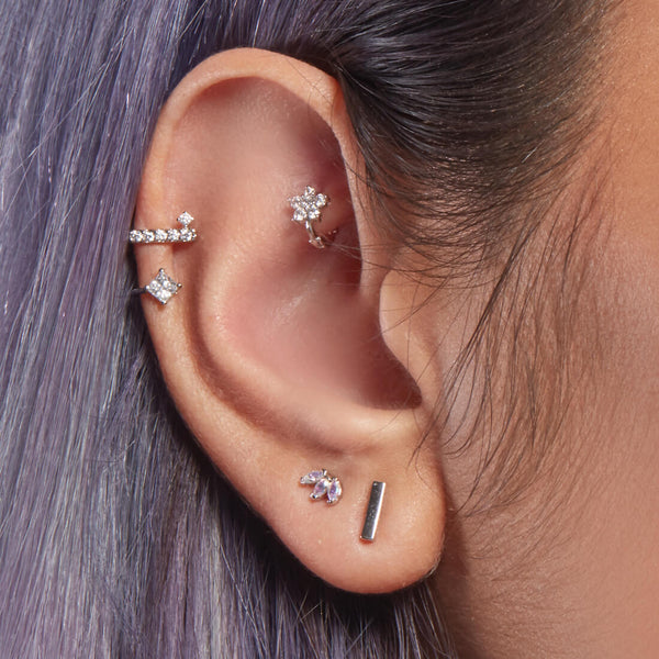 Plain Bar Piercing