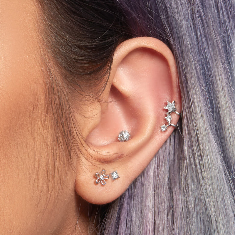 Tiny Sparkle Piercing