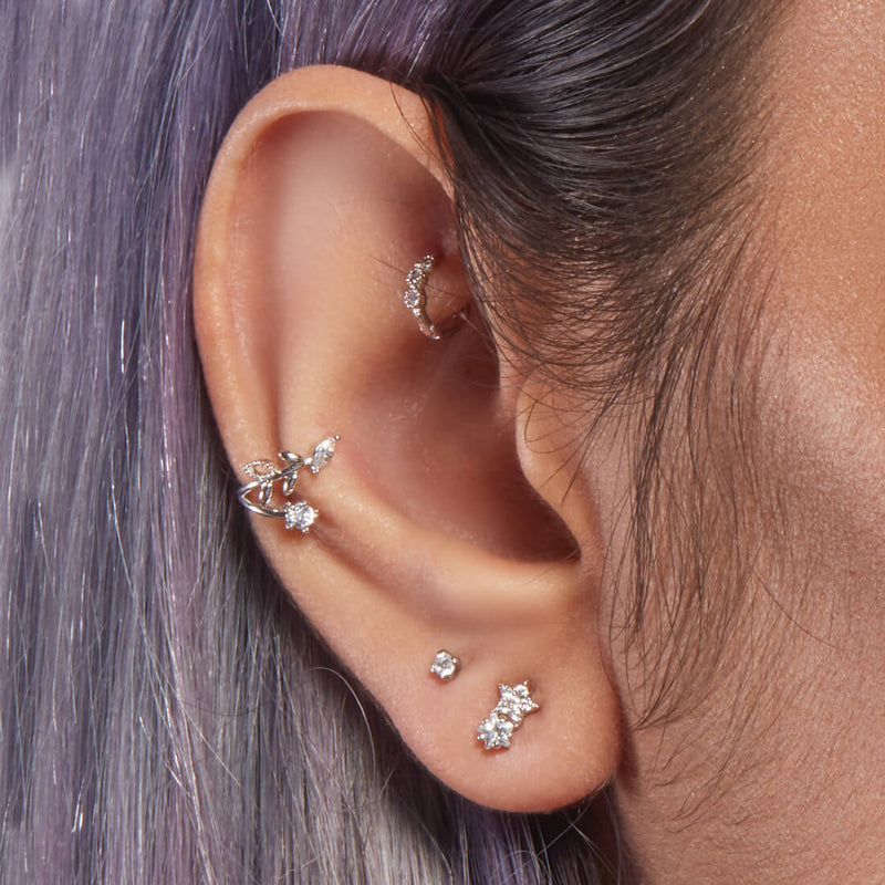 Double Star Piercing