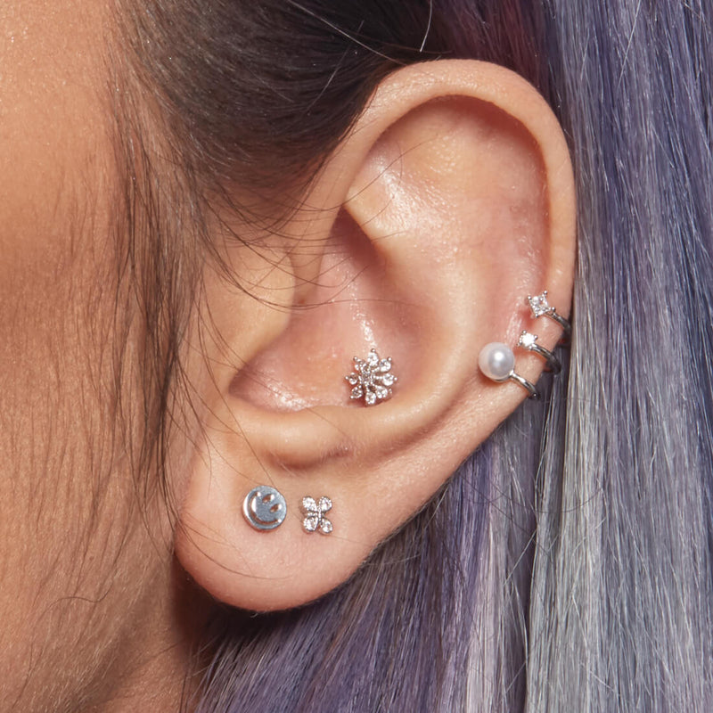 Large Flower Piercing