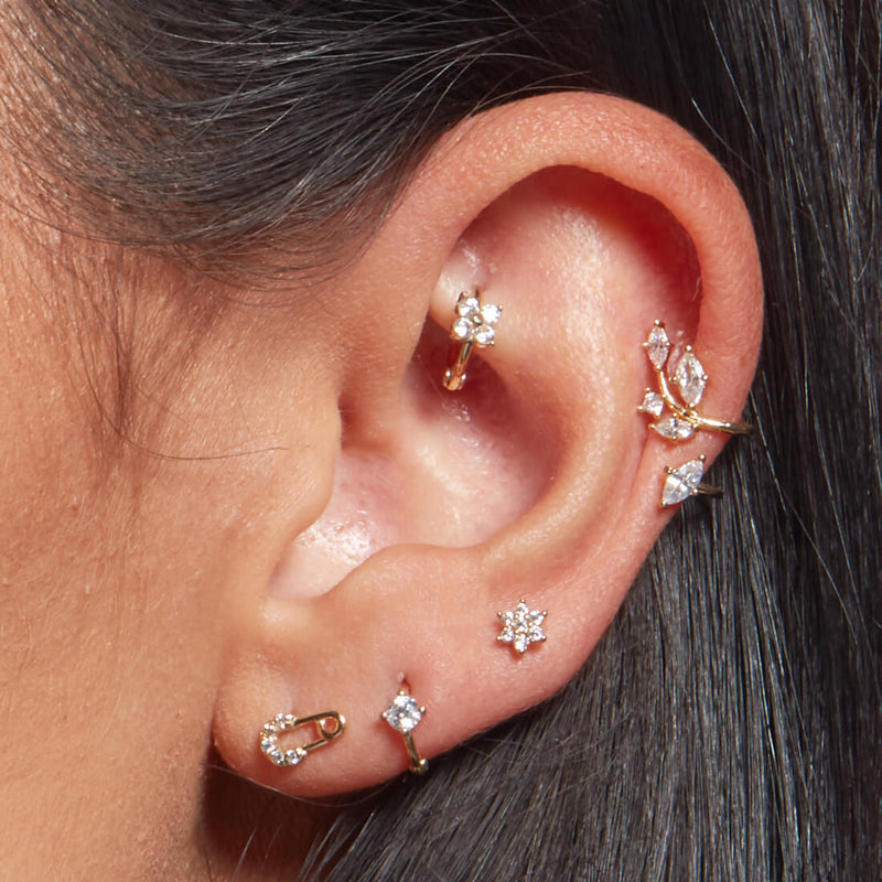 Tiny Flower Piercing
