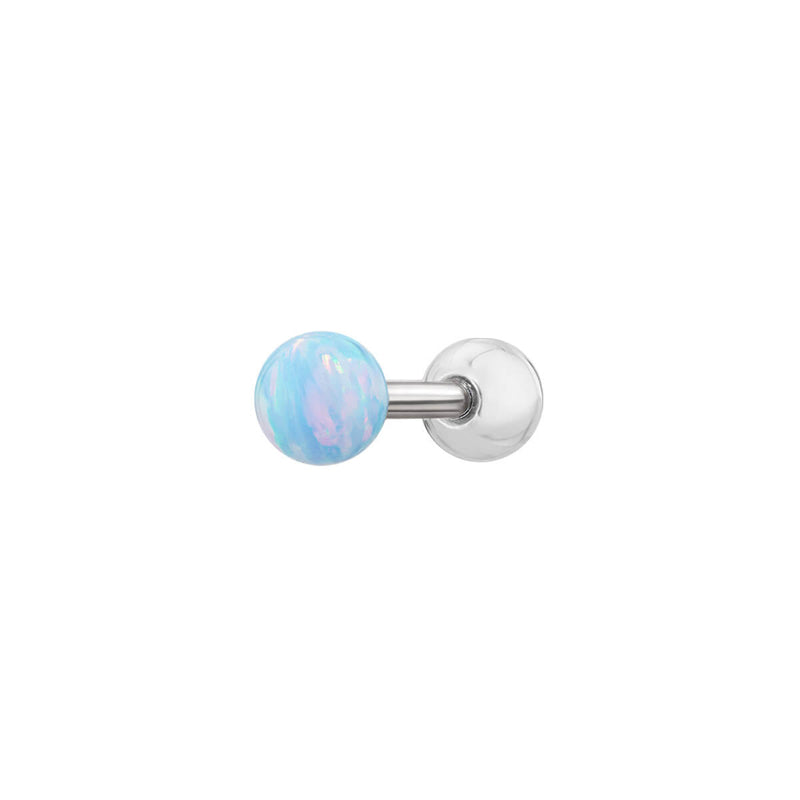Iridescent Ball Barbell