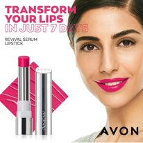 transform your lips with Avon