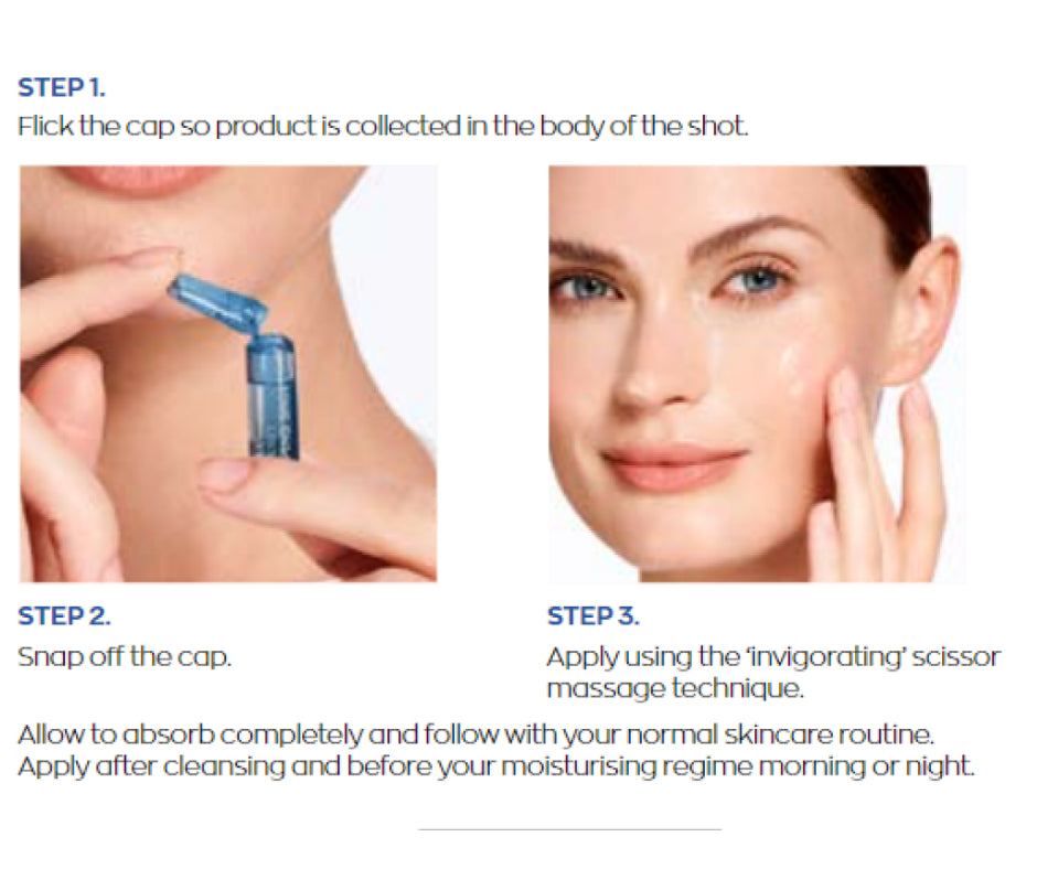 how to apply plumping shots by Avon