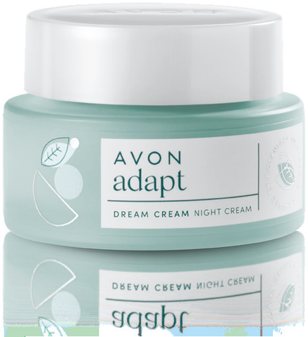 Avon Dream Cream Night Cream  helps double collagen production and calm skin