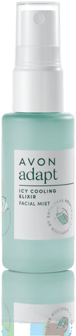 Avon Icy Cooling Elixir Facial Mist 100% of women saw an instant reduction in skin temperature