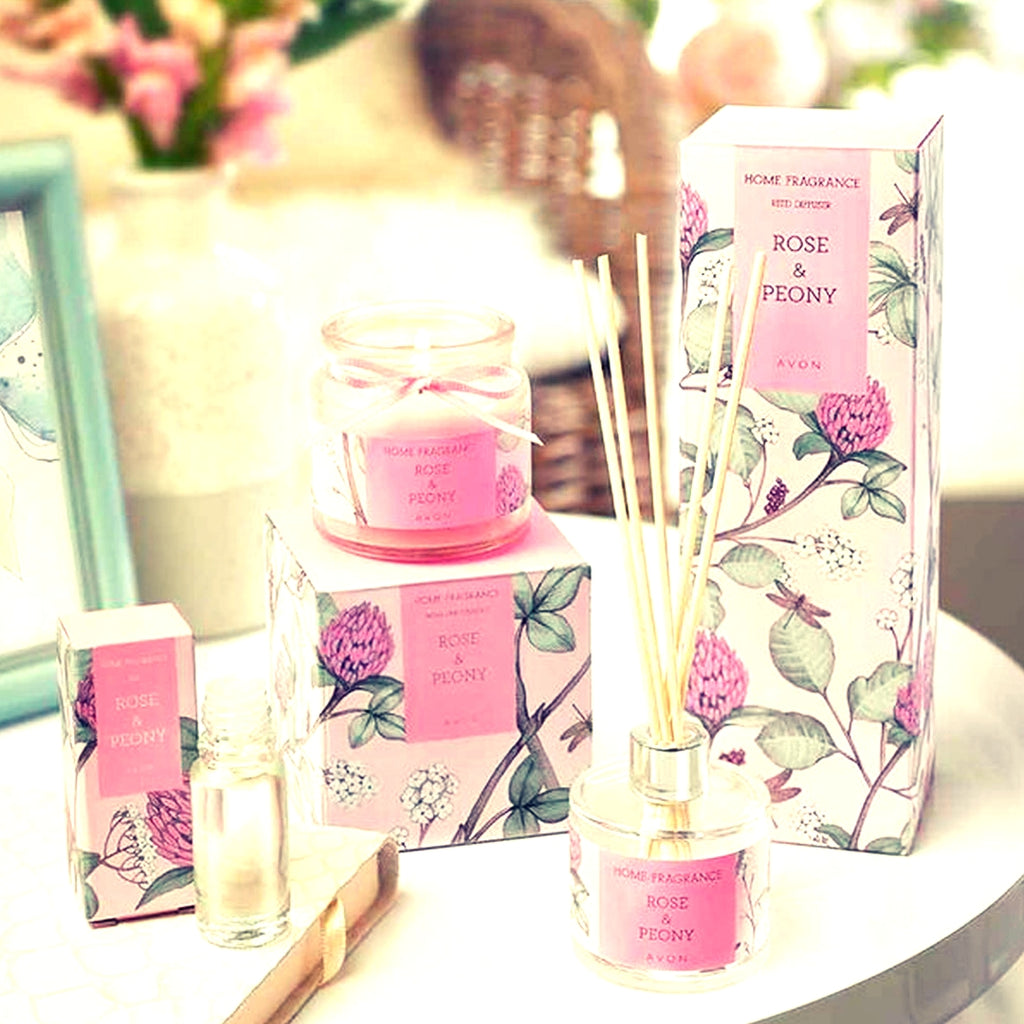 Rose & Peony Reed Diffuser