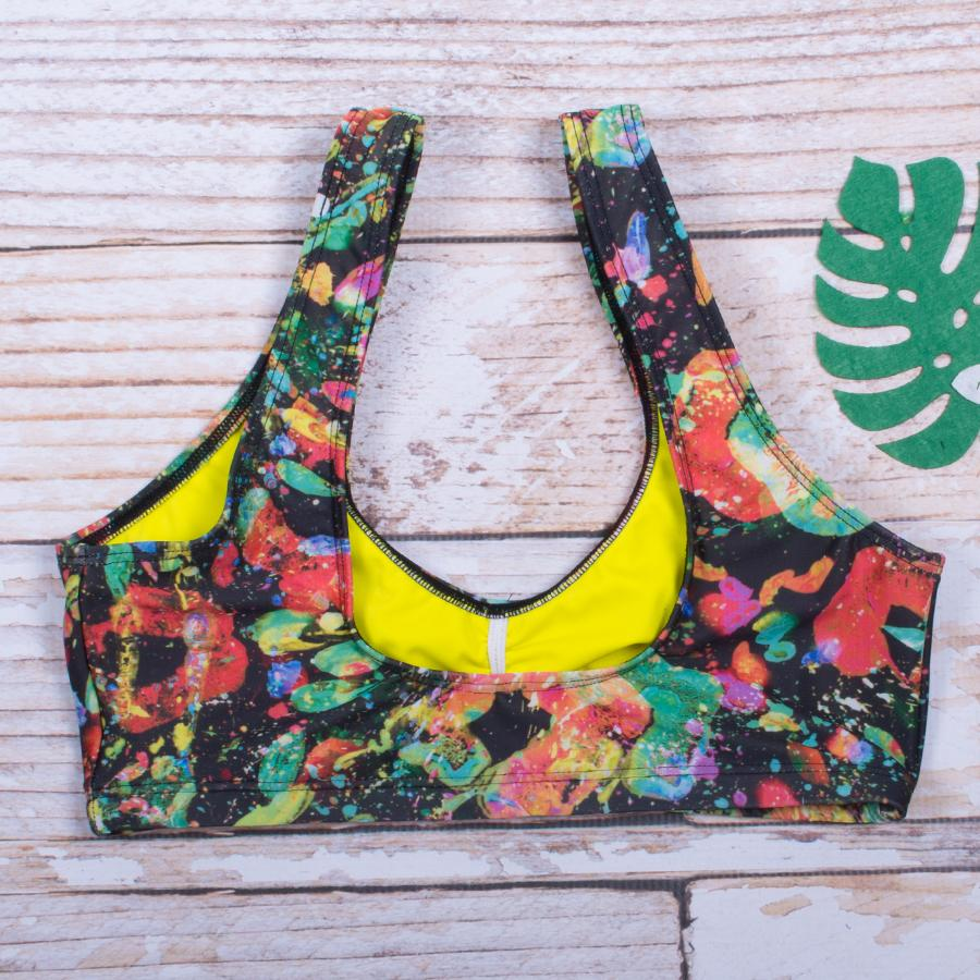 Paint Party Bralette Bikini Top - FJ SWIM