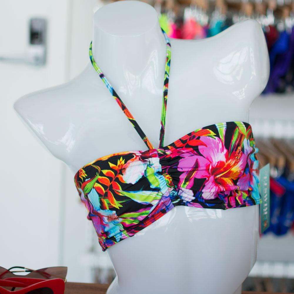 Electric Hibiscus Tube Top