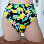 Lemon Tree High Rise/ High Waisted Bikini Bottom - FJ SWIM