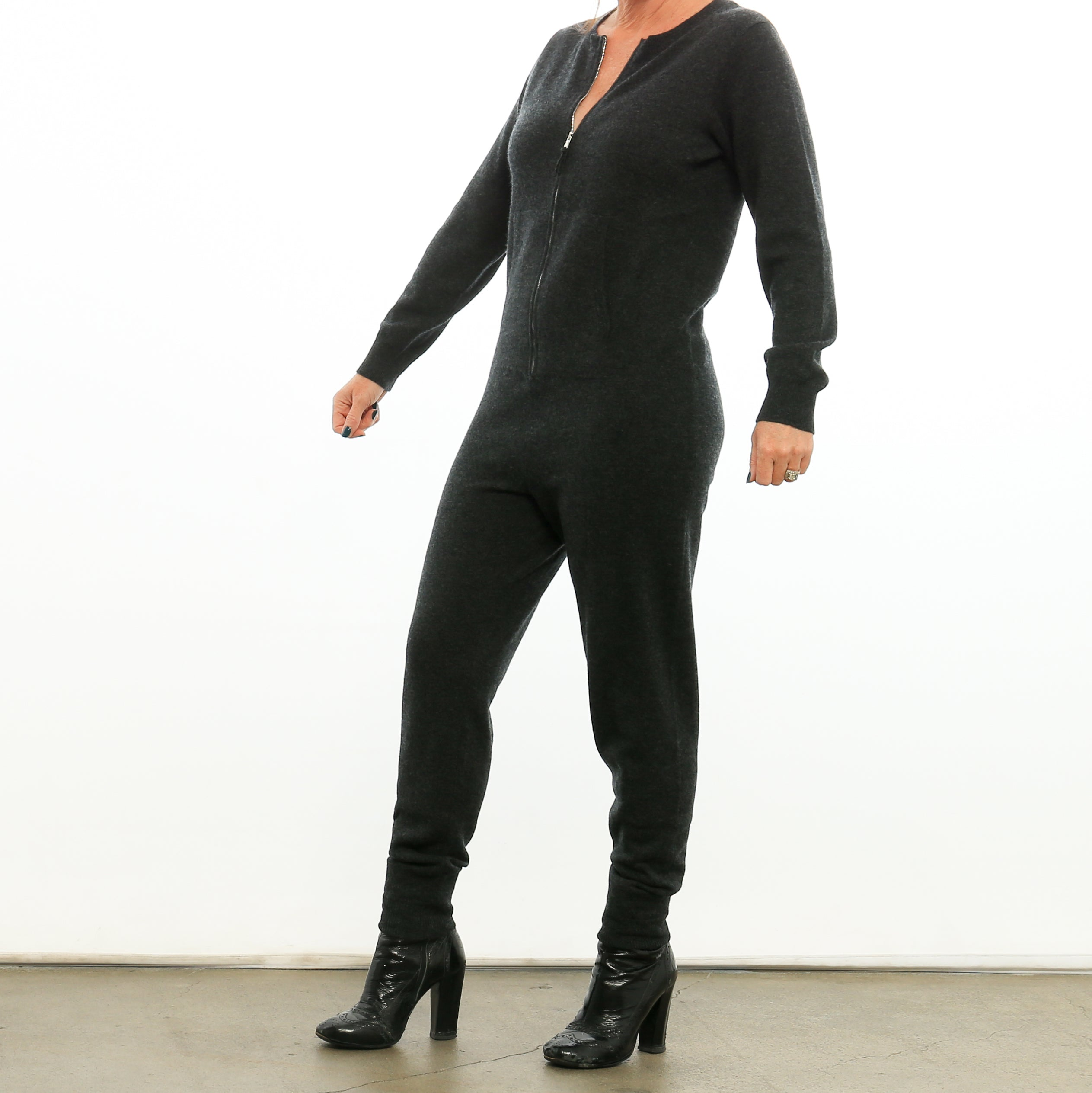 IN STOCK - La Börte Zipper Women - 100% Cashmere Onesie