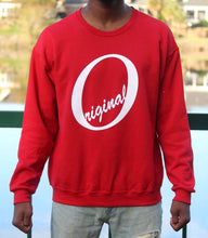 Load image into Gallery viewer, Deep Rose Crewneck
