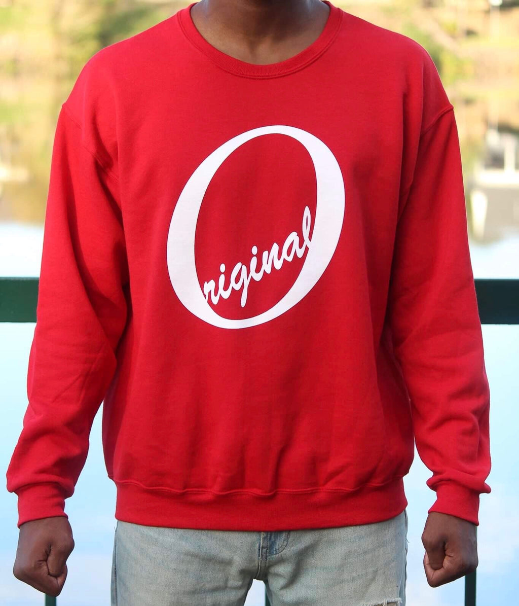 Deep Rose Crewneck