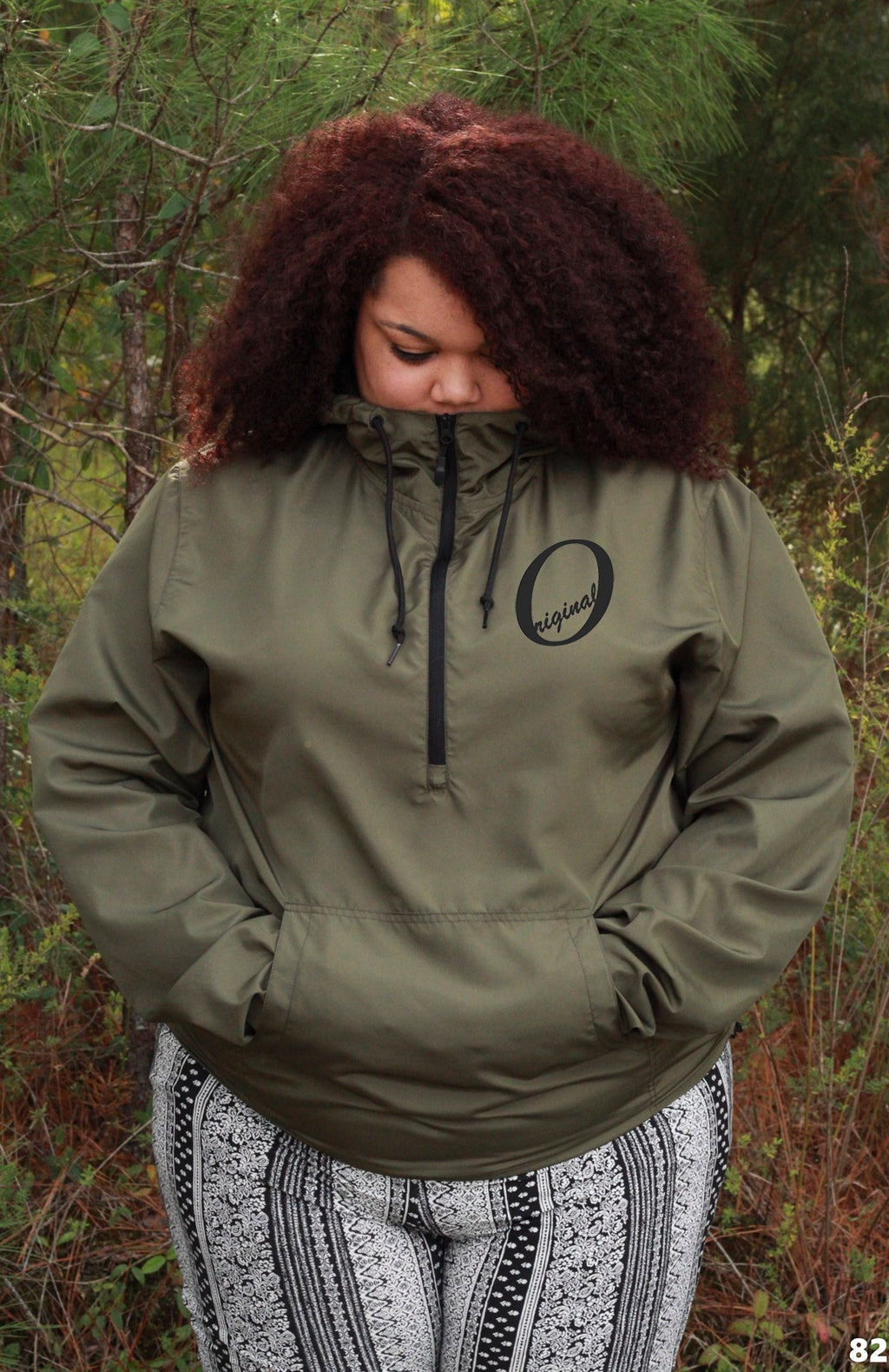 Olive Tree Windbreaker