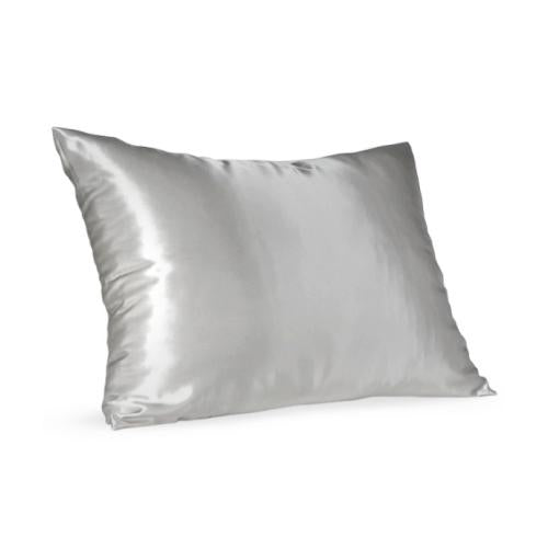 Light Grey Satin Pillow Slip - Standard