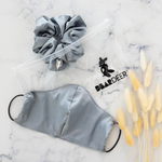 Stone Super Sized Scrunchie & Mask Set