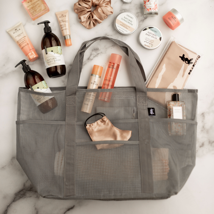 "Load image into Gallery viewer, The ""EVERYTHING"" Bag - Grey - Bag 