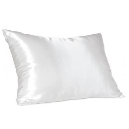 White KING Size Satin Pillow Slip