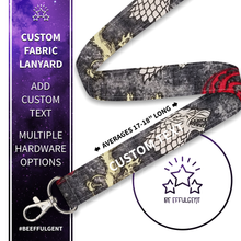 Load image into Gallery viewer, Game of Thrones Custom Lanyard